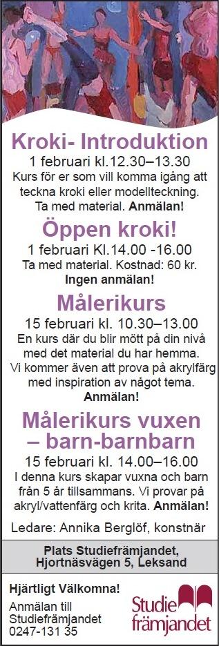 Annika Berglöf Kurs studiefrämjandet