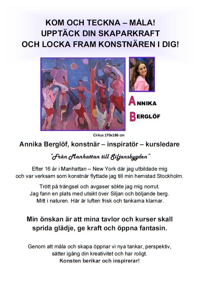 Startsida pdf Annika Berglöf