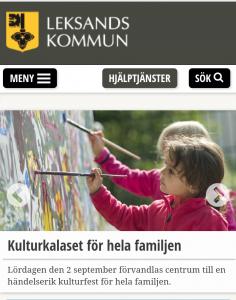 Kulturkalaset, bild källa: www.leksand.se