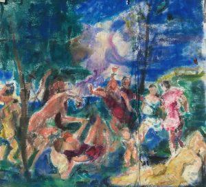 Målning av Annika Berglöf