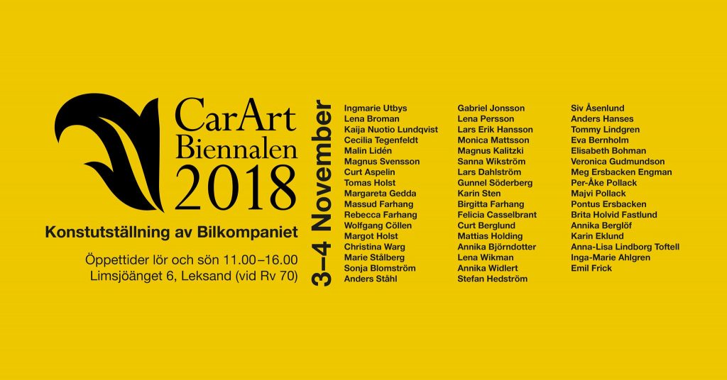 CarArt Biennalen 2018 - Leksand
