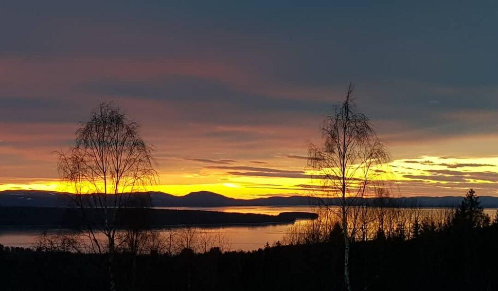 utsikt från Annika Berglöfs boende