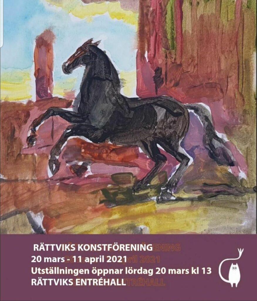 Rättviks konstförening utställning 2021